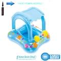 İntex 56581 Gölgelikli Bebek Simiti Havuz Bebek Flotoru