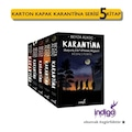 Karantina Serisi 5 Kitap Set Karton Kapak - İndigo Yayınları