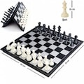 Katlanabilir Manyetik Satranç Takımı 25x25cm