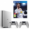 SONY PS4 500 GB SİLVER + 2.KOL + FİFA 18