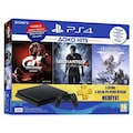 SONY PS4 500GB 2018 GT Sport+Uncharted4+Horizon Zero 3 AY PS PLUS