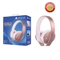 Sony PS4 Gold Edition Wireless Headset Rose Gold
