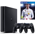 SONY PS4 SLIM 500 GB  YENI SLIM FIFA 2018 + 2. KOL V2 YENI