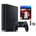 SONY PS4 SLIM 1 TB(CUH- 2016B) + NBA 2K17