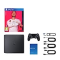Sony PS4 Slim Black 500 GB + FIFA 20 TÜRKÇE Eurasia Garantili