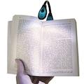 Madallı Kitap Okuma Lambası Okuma Işığı Bükülebilir Pilli