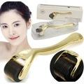 Derma Roller Dermaroller Gold 540 Titanyum İğneli + Yüz Temizleme