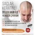 Delux Hair Keratinli Bitkisel Saç Çıkarma Bakım Serum 3 Aylık Set