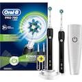 Oral b Şarjlı Diş Fırçası Pro 790  2 li Avantaj Paketi
