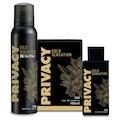 Privacy Gold Men EDT Parfüm 100 ml + Deodorant 150 ml