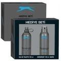 Slazenger Edt Erkek Parfüm 125ml+Deo Active sport mavi Set