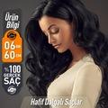 0,6 GR 60 CM Doğal Boncuk Kaynak Saç