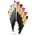 10'lu Fırça Seti - 10 Pcs Brush Set Siyah