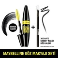 Maybelline Colosal Go Extreme Extra Siyah Maskara + Tattoo Liner