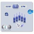 5 ADET-12 İĞNELİ Dr.PEN DERMAPEN İĞNESİ-A6,A1 ve Klipsli cihazlar