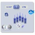 5 ADET-9 İĞNELİ Dr.PEN DERMAPEN İĞNESİ-A6,A1 ve Klipsli cihazlar