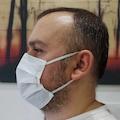3 Katlı Ultrasonik Baskılı Burun Telli Cerrahi Maske 50 ADET