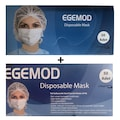 EGEMOD Cerrahi 3 Katlı Telli Medikal Ultrasonik Maske 2kutu100Ad