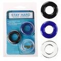 Stay Hard Ring 3 Adet Penis Halkası Seti