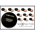 MAX FACTOR CREME PUFF  NO:55 CANDLE GLOW
