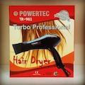 POWERTEC TR-901 PROFESYONEL  FÖN MAKİNESİ VE SAÇ KURUTMA MAKİNESİ