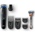 Braun MGK 5045 Erkek Bakım Kiti AutoSense Teknoloji Siyah&Mavi Ka