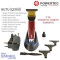 Powertec TR 658 Sakal Traş Makinesi Vücut Kılı Tıraş Makinası
