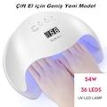 Sun 6 Pro 54W Kalıcı Oje ve Protez Tırnak Kurutucu 32 LED