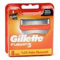 Gillette Fusion5 Tıraş Bıçağı Yedek 8 Lİ (4lü 2 Adet)