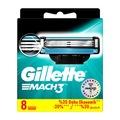 Gillette Mach3 8 Lİ Tıraş Bıçağı Yedek