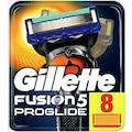 Gillette Fusion Proglide Tıraş Bıçağı 8 Li Yedek Başlık