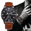 Migeer Spor Tasarım Erkek Kol Saati Bileklik Hediyeli Şık Saat