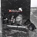 Polo Air Erkek Kol Saati Parfüm Gözlük Bileklik Tesbih Kalem