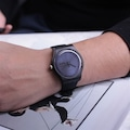 Swatch SUOB702 Black Rebel Erkek Saati