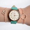 Tasarım Kadın Kol Saati ve Bileklik Seti