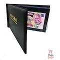 Lüx Kağıt Para Albümü Suni Deri - 40 Para Kapasiteli - Siyah