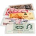 25 Adet Plastik Şeffaf Kağıt Para Koruyucu Zarf - Banknot Poşeti