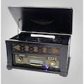 Siyah Kapaklı Özel Tasarım Gramofon