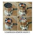 Kefo Elektrikli Köz Yakma Makinası/Nargile Köz Ocağı/Közde Kahve
