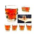 Shot Glass Kuru Kafa Bardak 4 Adet