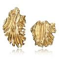 Yaprak Vintage Gold Küpemiz