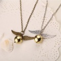 Harry Potter - The Golden Snitch Pendent Cosplay Kolye