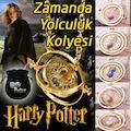 Harry Potter 5 RENK Time Turner Hermione Granger Kum Saati Kolye