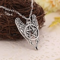 Pentagram Supernatural Cosplay Kolye