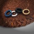 Sıkıştırmalı Erkek Çelik Küpe İnce 3mm Deliksiz Kulaklara mse1