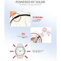 Q&Q RP00J044Y Güneş Enerjili Su Geçirmez Spor Kol Saati