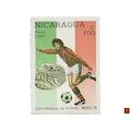 Nikaragua - 1986 Mart 20 - Spor (Futbol) Temalı Pul Koleksiyonu