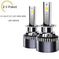 LED XENON FAR ŞİMŞEK ETKİLİ BEYAZ H1-H4-H7-H11-H27-9005-9006