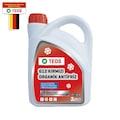 Teos -40° Organik Kırmızı Antifriz 3 LT + 1 LT Cam Suyu Hediye