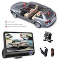 """AE FHD 4""""Ekran 1080p 3 Kameralı Araç İçi Güvenlik Kamerası"""